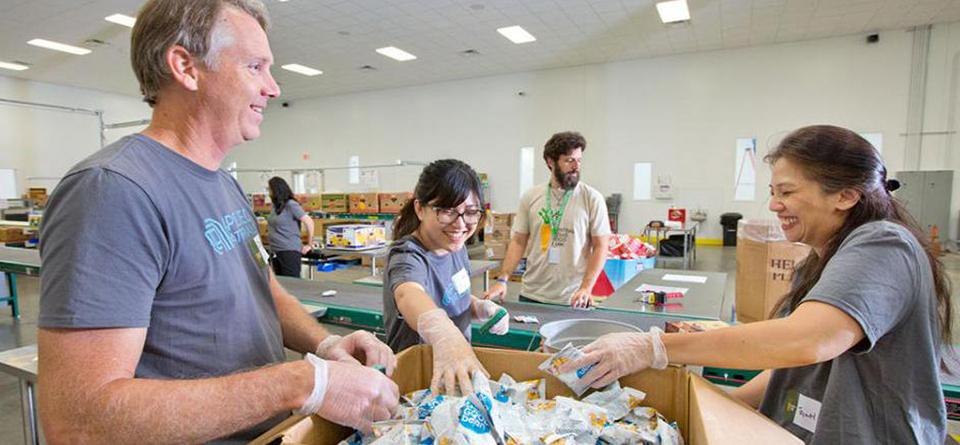 Austin Food Bank Volunteer