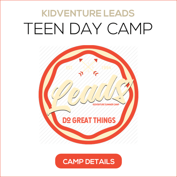 TEEN DAY CAMP BUTTON